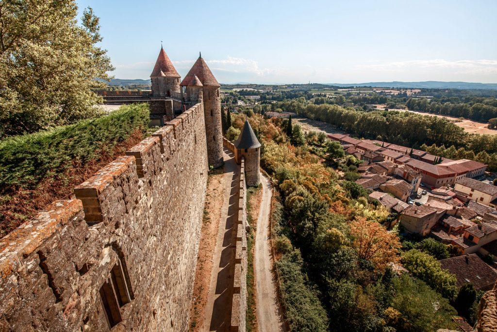 Les lices de la cité médiévale de Carcassonne