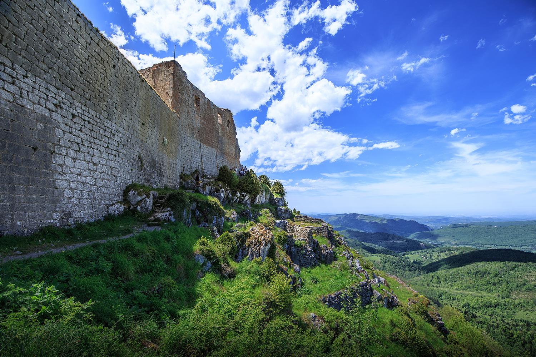 L'environnement du château de Montségur