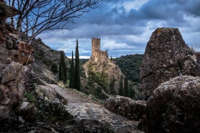 Les sentiers des quatre châteaux de Lastours