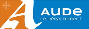 Logo rectangle Département de l'Aude