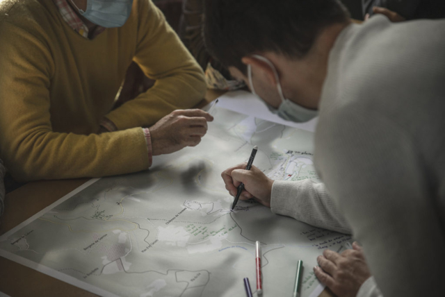 Échanges autour de l'élaboration du plan de gestion dans le cadre de l'atelier de concertation de la candidature des Citadelles du vertige au patrimoine mondial de l'Unesco