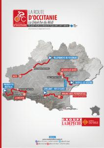 Parcours de l'épreuve cycliste La Route dOccitanie